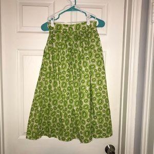 Dresses & Skirts - Tara Starlet Kiwi Print Midi Skirt